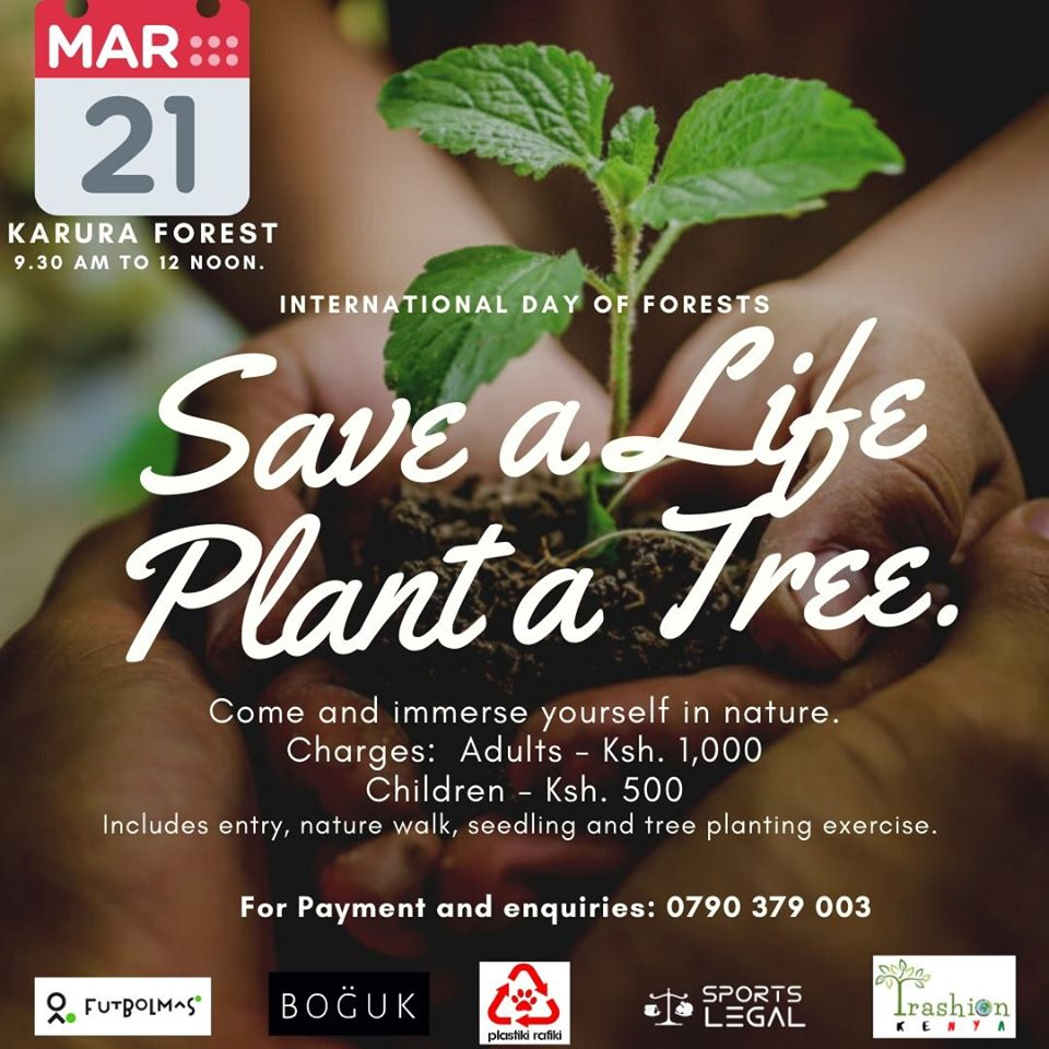 Save a life, Plant a tree