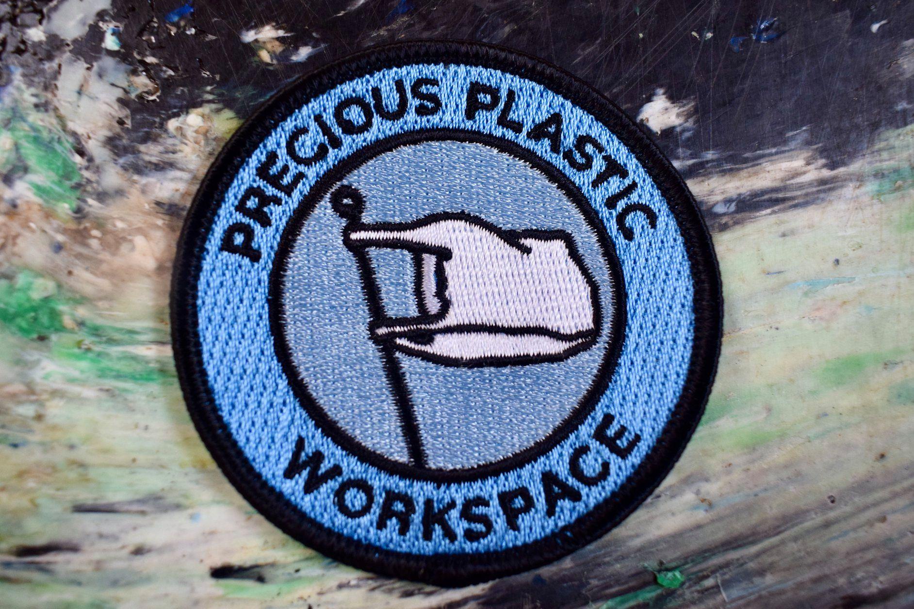 Precious Plastic Patches!