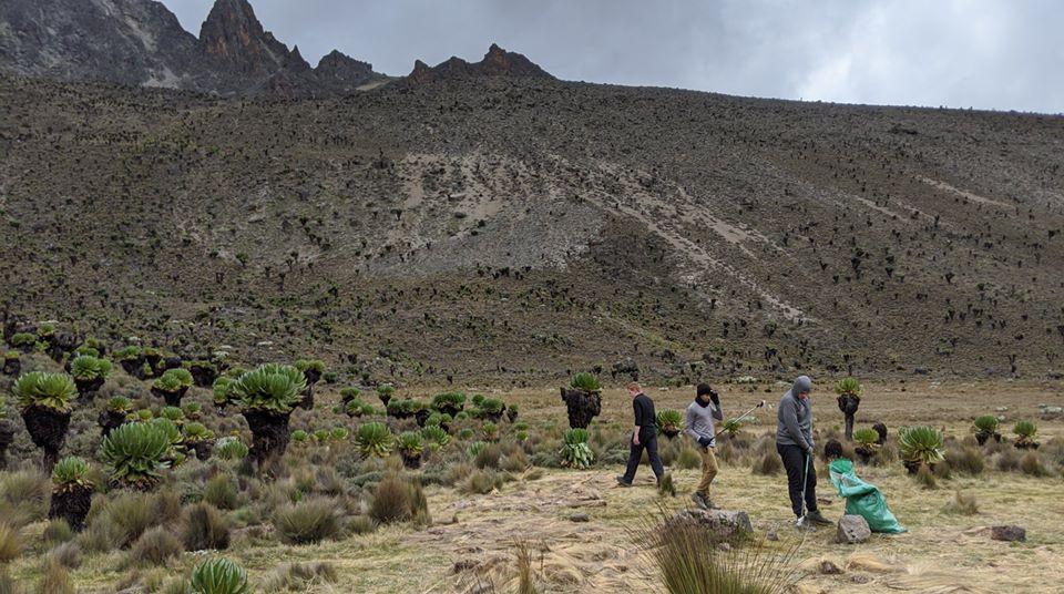 Boy Scouts Clean Mt. Kenya