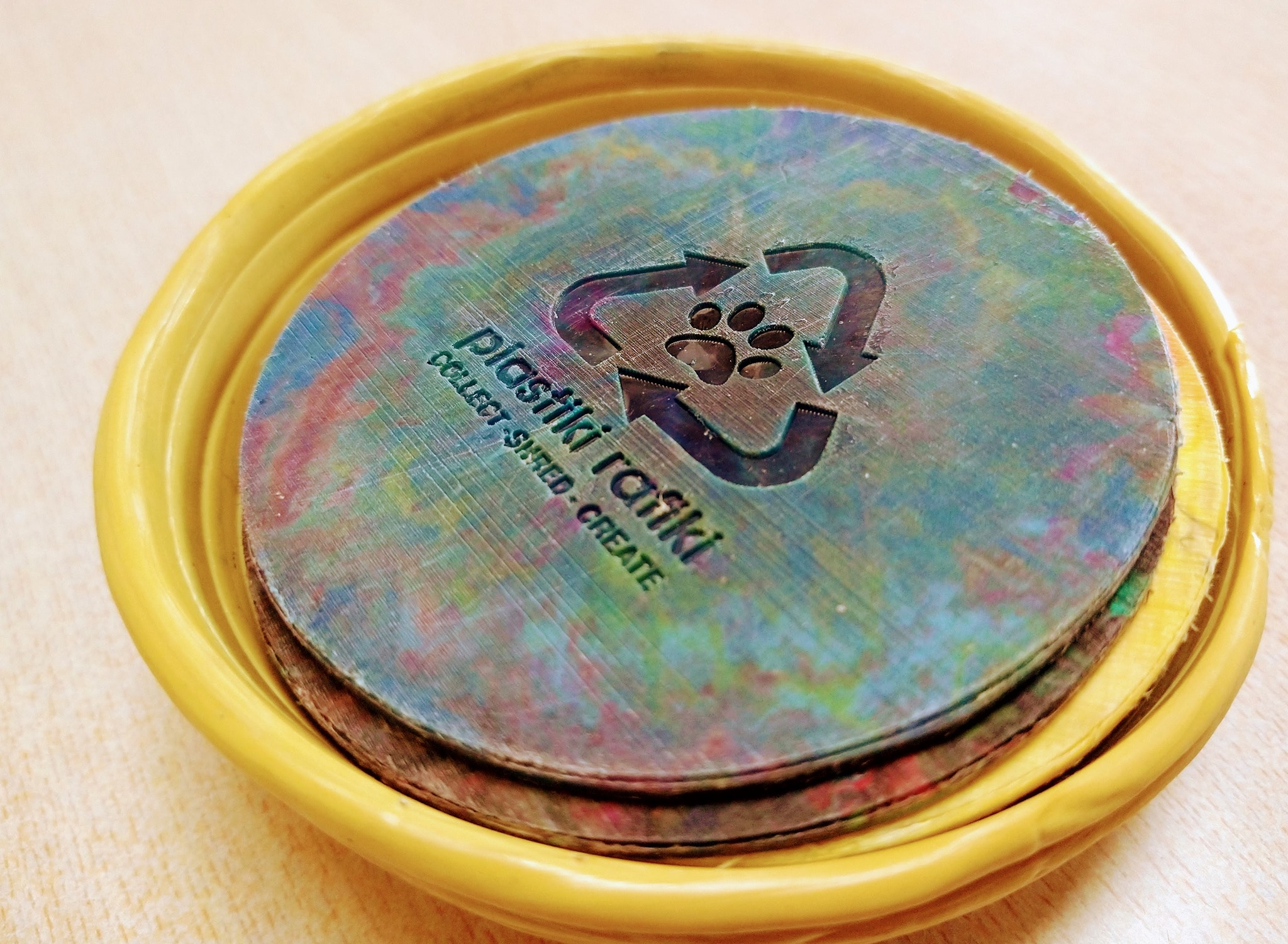 Branded Coasters From Recycled Plastic